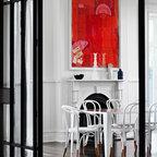 Bayside house for Ava nailhead chaise