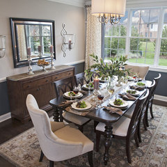 contemporary dining room by Mary Cook