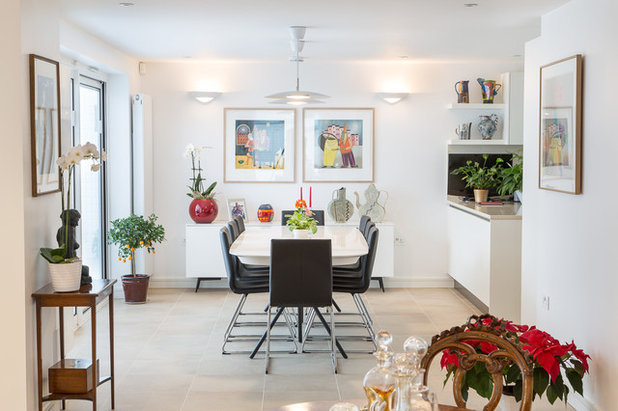 11 Ways To Define Your Open Plan Dining Space