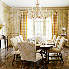 traditional dining room by Harrison Design Associates - DC