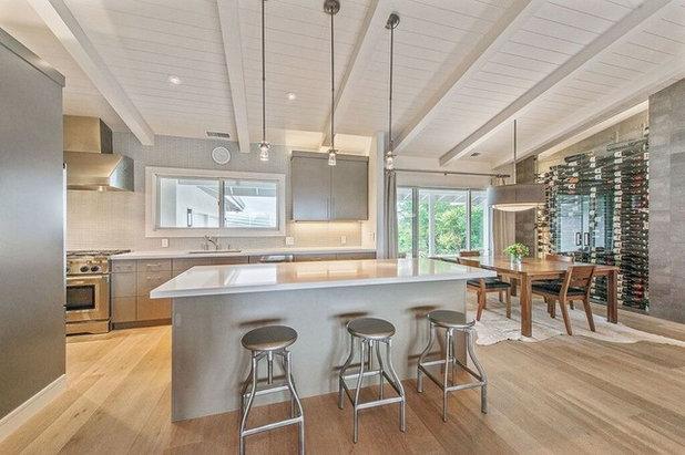 Contemporary Dining Room Healdsburg Hillside Ranch