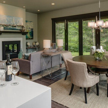 Hearthside Contemporary Bungalow