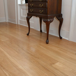 "Heartwood ""Red Birch"" Floors - ""Red Birch"" heartwood only wide plank Birch flooring, sawmill direct from Hull Forest Products."