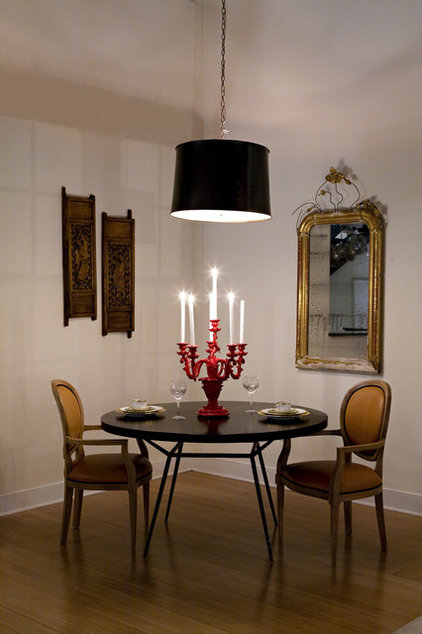 contemporary dining room by Heather Garrett Design