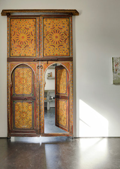 & See How Salvaged Doors Add Character to a Home