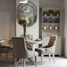 Transitional Dining Room by Neptune Home Fulham