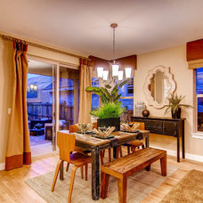 Traditional Dining Room by Wonderland Homes