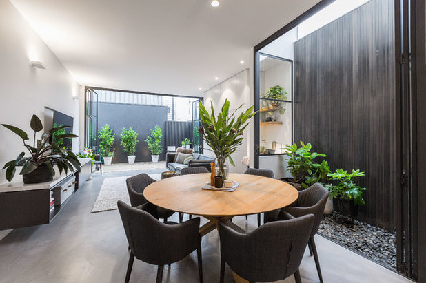 Contemporary Dining Room by First Avenue Homes