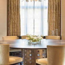 Contemporary Dining Room by Clockwork