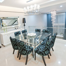 Contemporary Dining Room by Empire Designs
