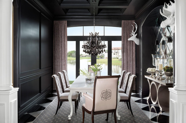 Traditional Dining Room by Krista + Home