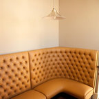 Chicago Co Op Banquette Contemporary Dining Room