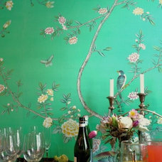 Asian Dining Room by Griffin and Wong Ltd