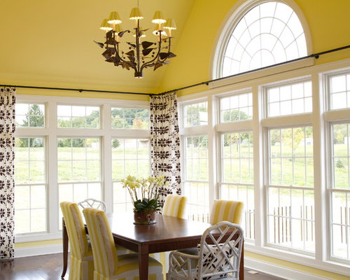 Bay Window Curtain Rod Ideas, Pictures, Remodel and Decor