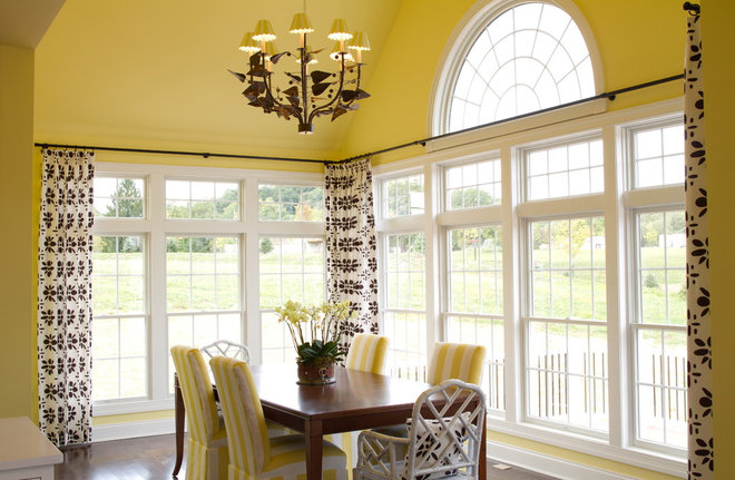 traditional dining room by alisha gwen interior design