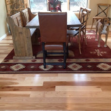 Eclectic Dining Room by Magnus Anderson Hardwood Floors