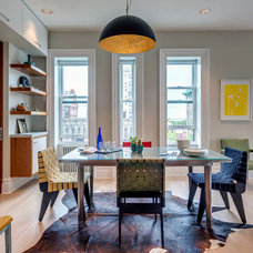 Contemporary Dining Room by Ed Kopel, Architect, P.C.