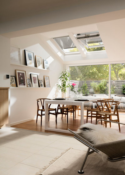 Contemporary Dining Room by VELUX