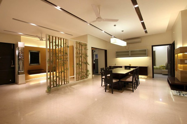 Contemporary Dining Room by TouchWood Interiors