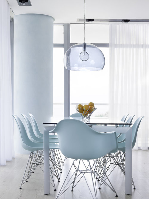 Molded Plastic Dining Chairs Houzz - Plastic dining room chairs