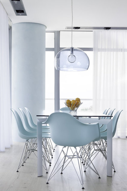 Contemporary Dining Room by Bigtime Design
