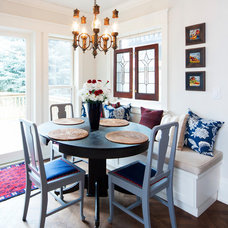 Eclectic Dining Room by Interiors Divine