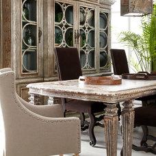 Mediterranean Dining Room by PENINSULA