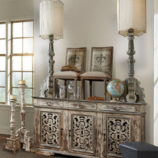 Mediterranean Dining Room by PENINSULA