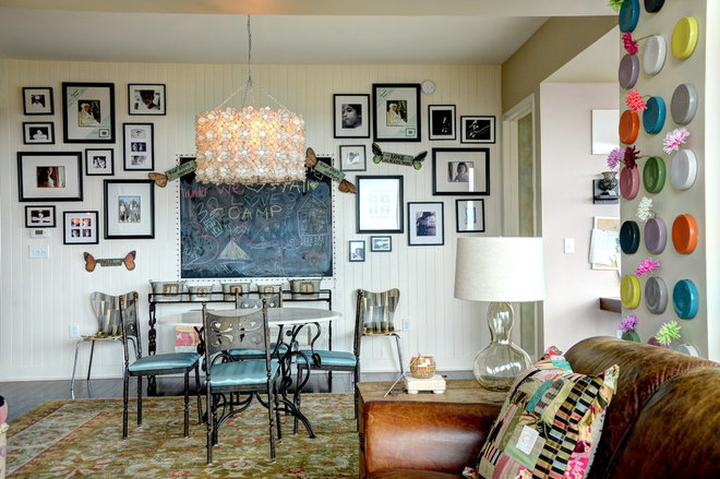 Eclectic Dining Room by The Consulting House Inc.