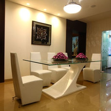 Contemporary Dining Room by Adorn Space Concepts Pvt Ltd