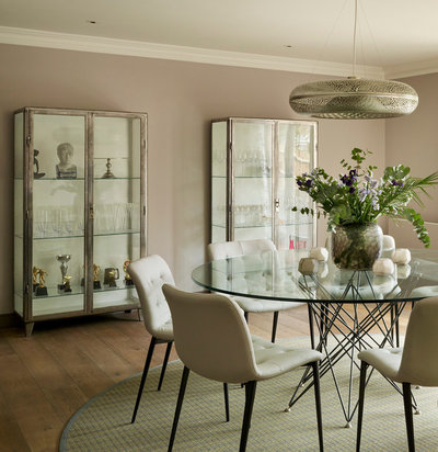Contemporary Dining Room by Ensoul Interior Architecture