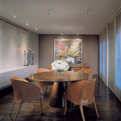 contemporary dining room by Powell/Kleinschmidt, Inc.