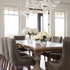 Contemporary Dining Room by Moeski Design Agency