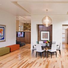 Contemporary Dining Room by Shoberg Custom Homes