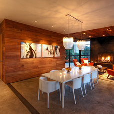 Modern Dining Room by Cornerstone Architects