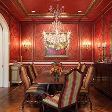 Traditional Dining Room by Ferwerda Interior Design