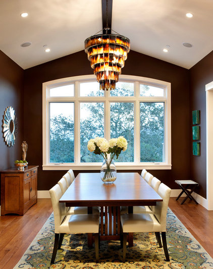 Contemporary Dining Room by Sullivan Design Studio