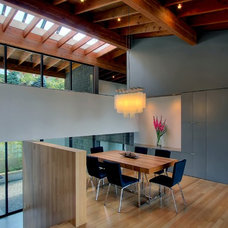 modern dining room by Renzo J Nakata Architects