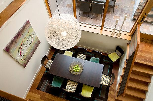 Moderno Comedor by Kimball Starr Interior Design