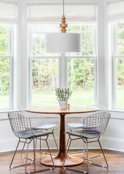 Transitional Dining Room by Kennerknecht Design Group
