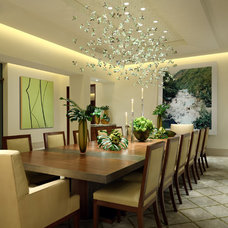 Contemporary Dining Room by David Phoenix Interior Design