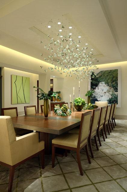 Contemporary Dining Room by David Phoenix Interior Design