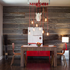 modern dining room by Jordan Iverson Signature Homes