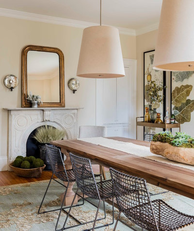 Traditional Dining Room by Lisa Tharp Design
