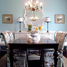 Traditional Dining Room by Stephen Shutts Design