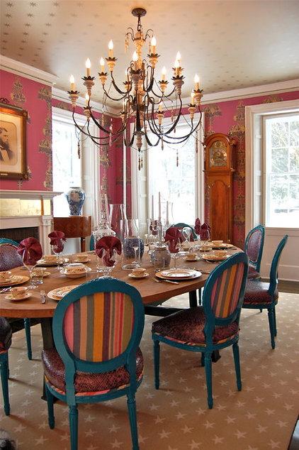 Contemporary Dining Room by Favreau Design