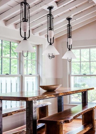 Farmhouse Dining Room by Dandeneau Architecture P.L.L.C.