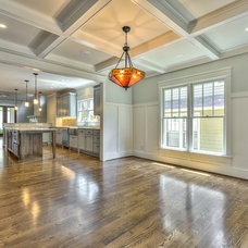 Craftsman Dining Room by Robinson Construction