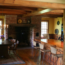Farmhouse Dining Room by The McKernon Group