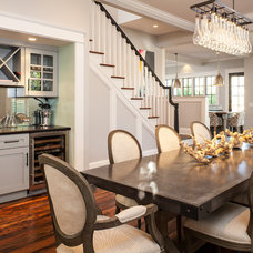 Craftsman Dining Room by Renewal Design-Build